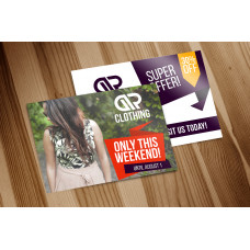 """Flyers 5.5"""" x 8.5"""" + 100lb Glossy Book"""